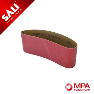 Abrasive Emery Sanding Belt for Wood pictures & photos