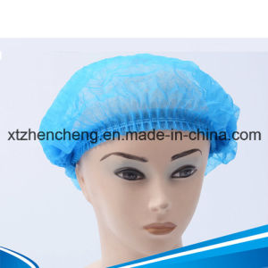 PP Nonwoven Clip Mob Cap pictures & photos