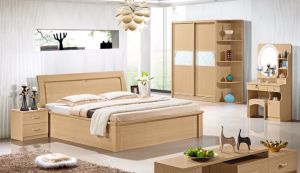 1.8m Wooden Bedroom Bed for Furniture Suite pictures & photos