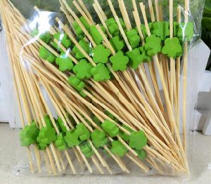 Eco Natural Bamboo Fruit Skewer/Stick/Pick (BC-BS1062) pictures & photos