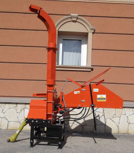 Pto Driven Wood Chipper Th-8, 8′′ Diameter, Two Hydraulic Feeding Rollers, 3point Hitch, Ce Approval pictures & photos