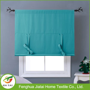 New Design Polyester Valance Contemporary Kitchen Curtain Sets pictures & photos