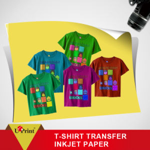 Dark Inkjet T-Shirt Heat Transfer Paper for Pigment Ink Heat Transfer Paper Dark pictures & photos