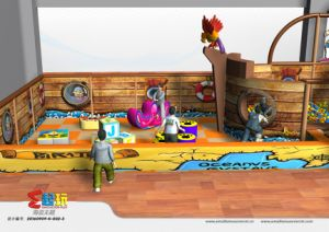 Pirate Ship Indoor Playground Equipment for Shopping Mall pictures & photos