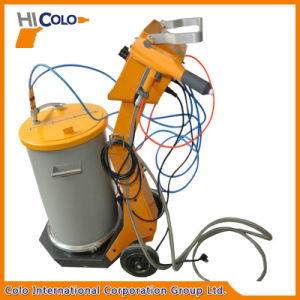 Manual Powder Coating Spray System with Fluidizing Hopper pictures & photos