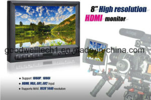 "8"" LCD Touch Monitor with VGA, HDMI, AV Input (819AHT) pictures & photos"