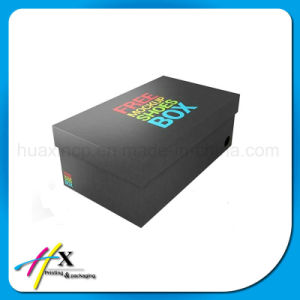 Popular Cardboard Custom Paper Shoes Packaging Box pictures & photos