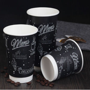 High Quality Disposable Paper Customized Hot Coffee/Tea Cup pictures & photos