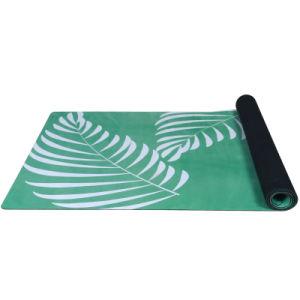 Eco-Friendly Natural Rubber Yoga Mat Anti-Slip Suede Yoga Mat pictures & photos