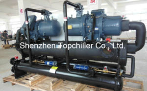150HP PLC Control Water Cooled Screw Chiller for Beverage Process pictures & photos