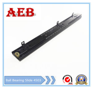 2017furniture Customized Cold Rolled Steel Three Knots Linear for Aeb4503-350mm Bottom Mounted Ball Bearing Drawer Slide pictures & photos
