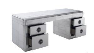 Antique Aviator Aluminum Desk, Classic Office Table Rtk-09 pictures & photos