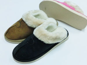 Warm Winter Indoor Home Nice Soft Wonmen Slipper for Winter  pictures & photos
