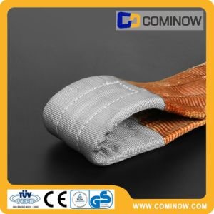 6t Polyester Webbing Sling with Reinforced Eyes En1492-1 pictures & photos