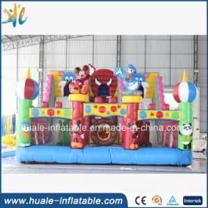Cartoon Inflatable Bouncy Castle, Inflatable Fun City for Kids pictures & photos