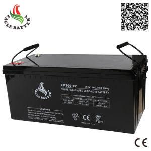 12V 200ah Mf VRLA Rechargeable Lead Acid Battery for UPS
