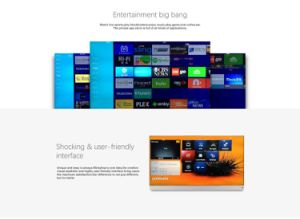 Ipremium IPTV Box Dual OS Mickyhop and Android 6.0 IPTV Box with Real Leather Design pictures & photos