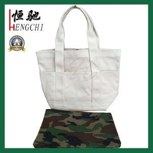Eco-Friendly Reusable Shopper Bag Canvas Tote Shopping Bag pictures & photos