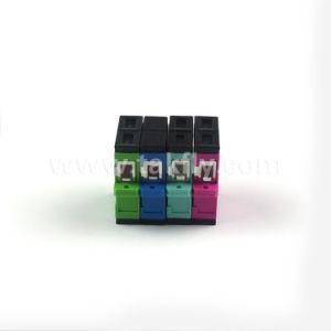 Sc APC Singlemode Simplex Fiber Optic Adaptor Adapter pictures & photos
