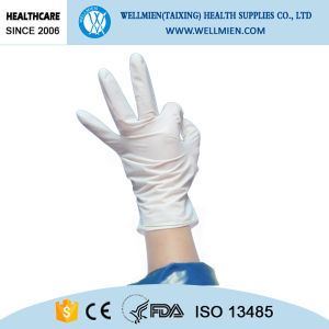 100% Natural Latex Surgical Gloves pictures & photos