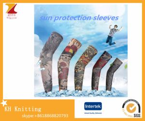 Fashion Summer Riding Tattoo Ice Arm Sleeves pictures & photos