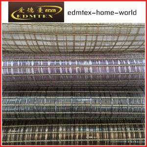 Fashion Embroidered Organza Curtain Fabric EDM-TH705 pictures & photos