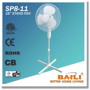 """Good Quality 16"""" Oscillating Cooling Stand Fan with Cross Base pictures & photos"""