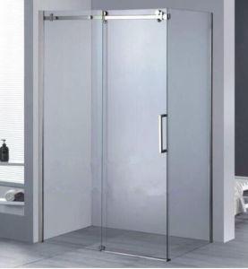 Corner Chrome Sliding Bath Cabin Shower Enclosure pictures & photos