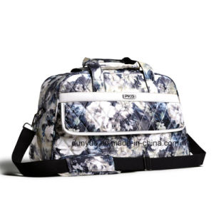 Fashion Printing Pattern Travel Bag, Casual Luggage Bag, Sport Duffel Bag with Shoulder Belt pictures & photos