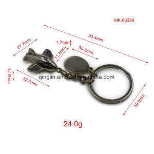 Airplane Mold Keychain with Keyring pictures & photos