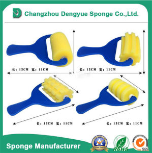 Cylindrical Tool Cleaning Polyurethane Foam Sponge Brusher pictures & photos