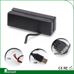 Membership Magnetic Stripe Card with USB Connector Msr100 pictures & photos