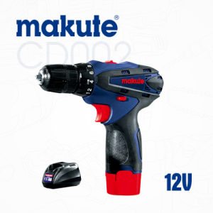 Makute Power Tools 10 Mm 12V Cordless Impact Drill (CD002) pictures & photos