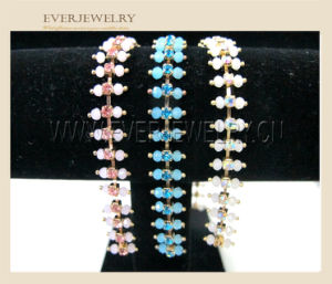 Wholesale Fancy Rhinestone Cup Chain Trimming with Pearls pictures & photos