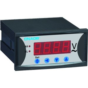 Single Phase Digital Voltmeter with Alarm Size 96*48 AC500V pictures & photos