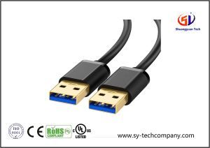 USB 3.0 a to a Cable Type a Male to Male Cable Cord for Data Transfer pictures & photos