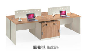 New Simple Home Office Partition for 4 Person pictures & photos