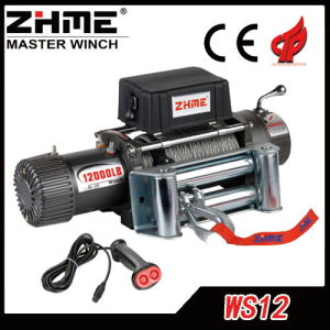 12000lbs Big Power Electric Winch with DC 12V/24V Motor pictures & photos