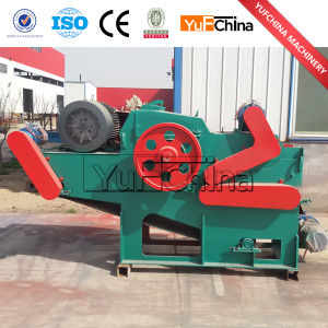 CE Approved Wood Chipper with Hydraulic Feeding pictures & photos