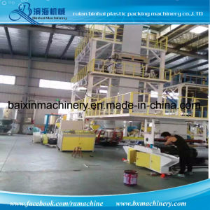 Three Layer Film Blowing Machine TNT Courier Bag Film pictures & photos