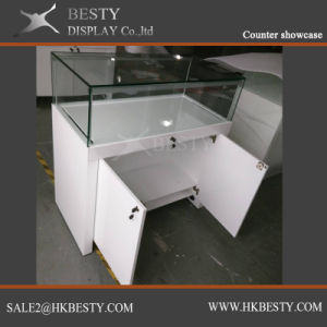 Jewelry Sitting Down Display Case with LED Light pictures & photos