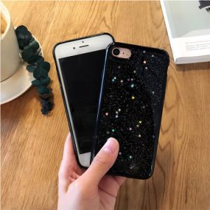 Star Black Glitter Phone Case Cover for iPhone 7 7plus pictures & photos