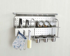 Multi-Use Stainless Steel Kitchen Ware Rack for Knife (342) pictures & photos