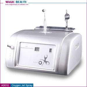 A0610 Portable Home Use Intraceuticals Oxygen Jet Peel Oxygen Facial Machine with Airbrush pictures & photos