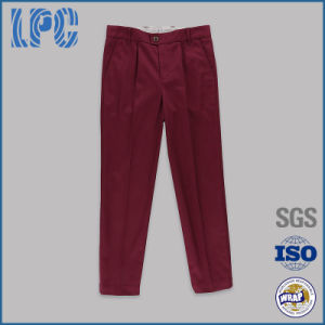 Boys Twill Chino Uniform Trousers pictures & photos