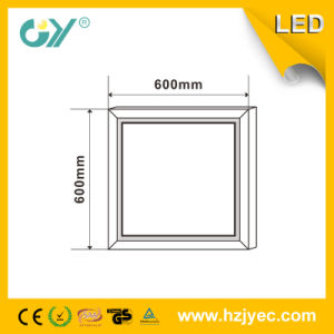 Super Slim High PF 600*600 12W Panellight with Ce pictures & photos
