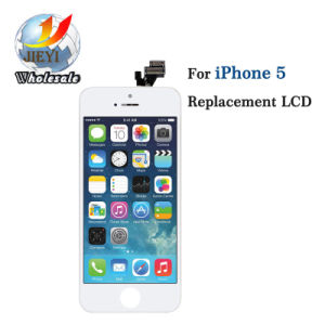 Wholesale Price Strict Test Quality Mobile Phone LCD for iPhone 5 LCD pictures & photos