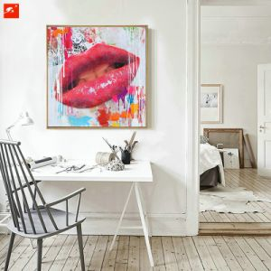 Red Sexy Lips Pop Street Wall Art Decor pictures & photos