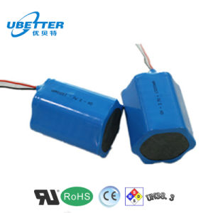 18650 Battery Pack Lithium Ion Battery 11.1V4400mAh pictures & photos