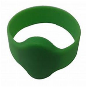 Wholesale RFID Silicon Wristband Without Logo pictures & photos
